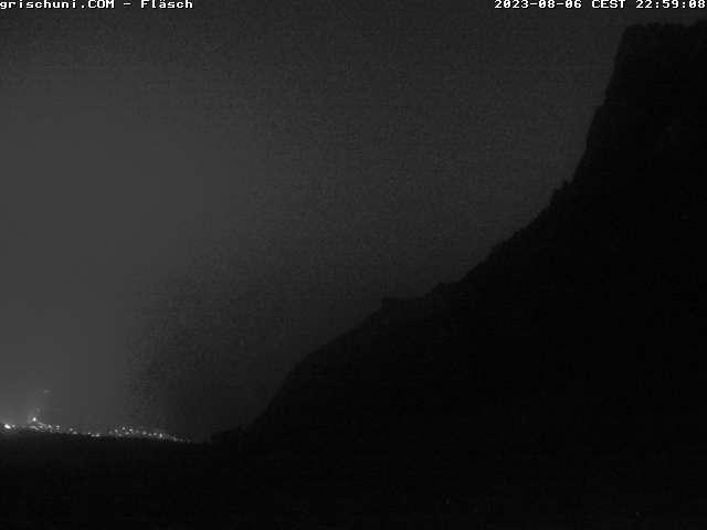 Webcam Fläsch mit Blick auf den Regitzer